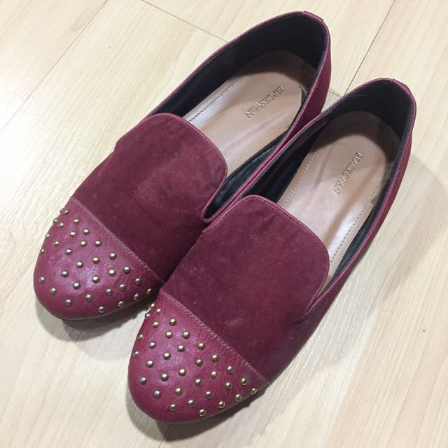 Loafer Shoes In Red