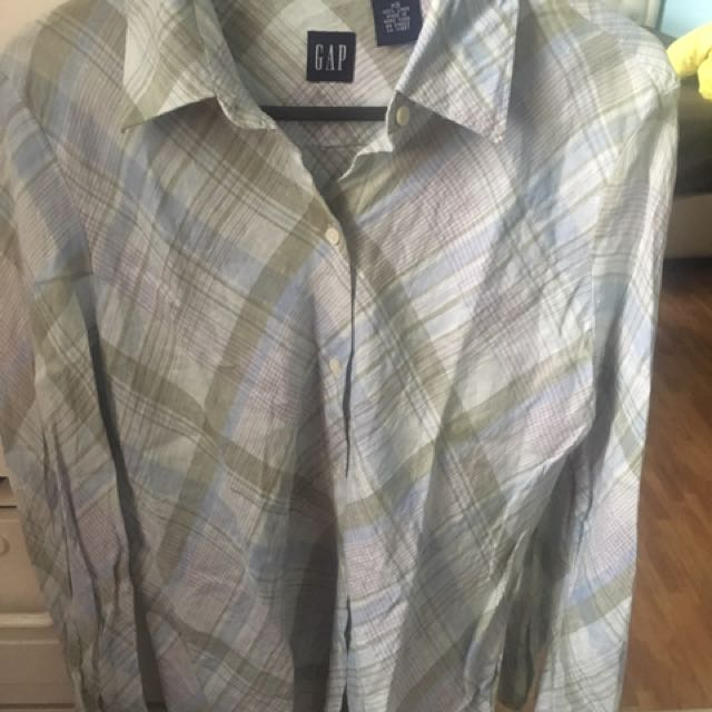 Long Sleeve Checkered