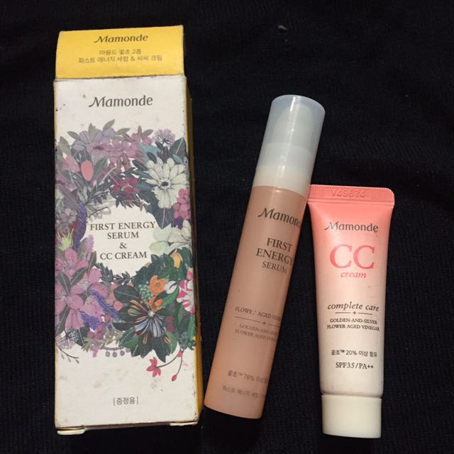 REPRICED! 😘Mamonde Set-Serum And CC Cream (Authentic)