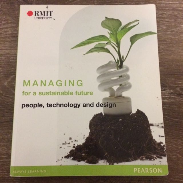 Managing for a Sustainable Future RMIT Textbook