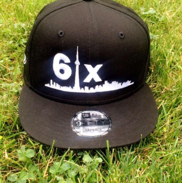 [New Era] 6ix Snapback (White On Black)