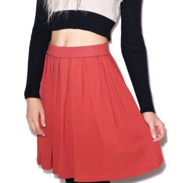 🔥NEW w/ TAGS $270 Wildfox Angora Circle Skirt