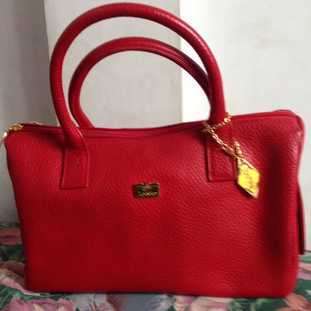 Original Bag Charles Louvier Red