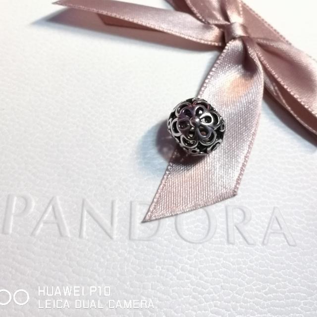 Pandora Openwork Wildflower Charm