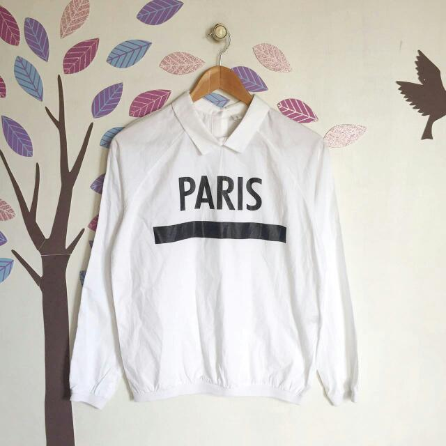 Paris Collar Top