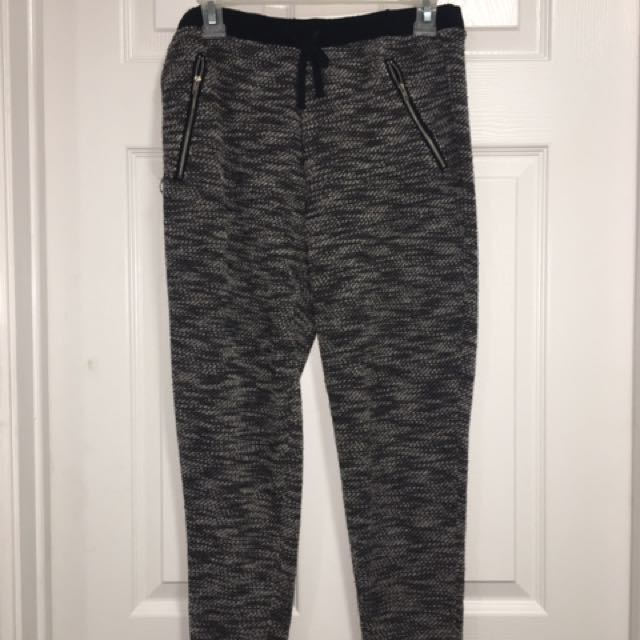 Patterned Track Pants