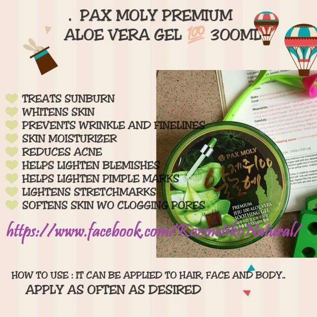 Pax Moly Premium Aloe Vera Gel