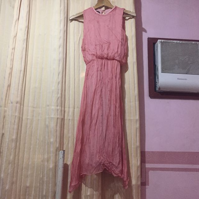 Peach Chiffon Dress (Long)
