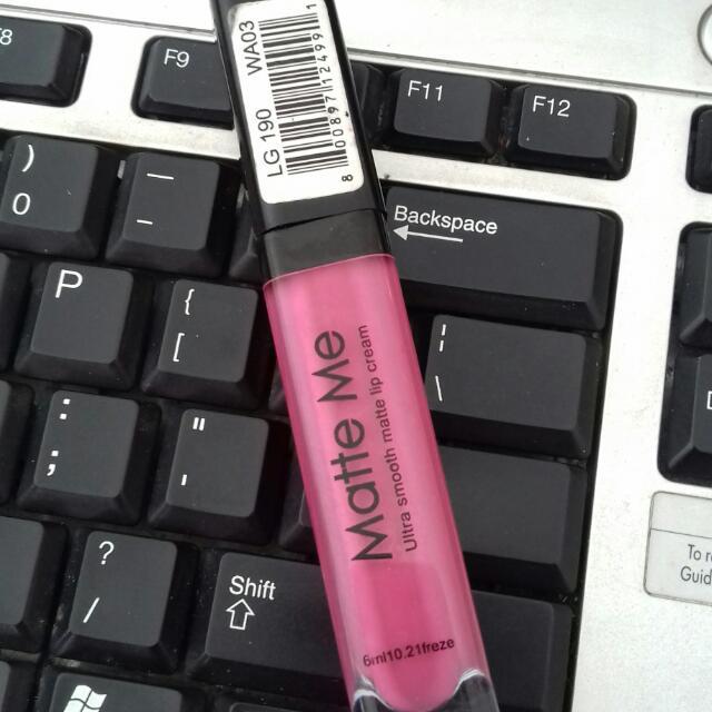 Pink Matte Me Lipstick (Not Ori)
