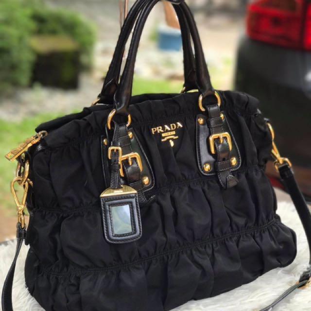 6f05cfe49ff6 ... low price prada bn1336 tessuto gaufre luxury bags wallets on carousell  1de9c cd7de