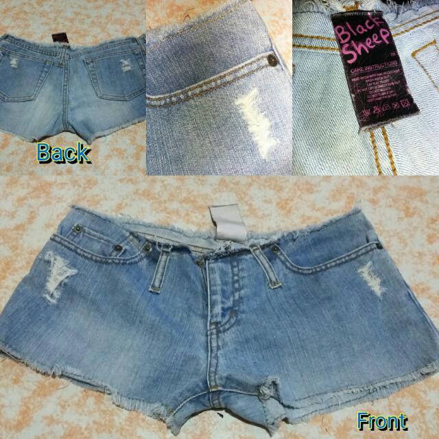Preloved Denim Bikini Shorts