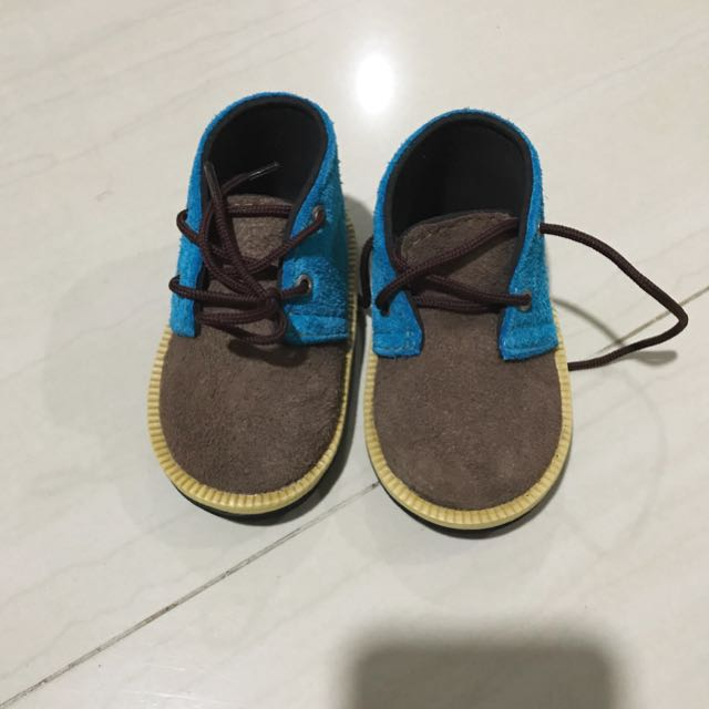 PUNK PINK suede shoes for boy