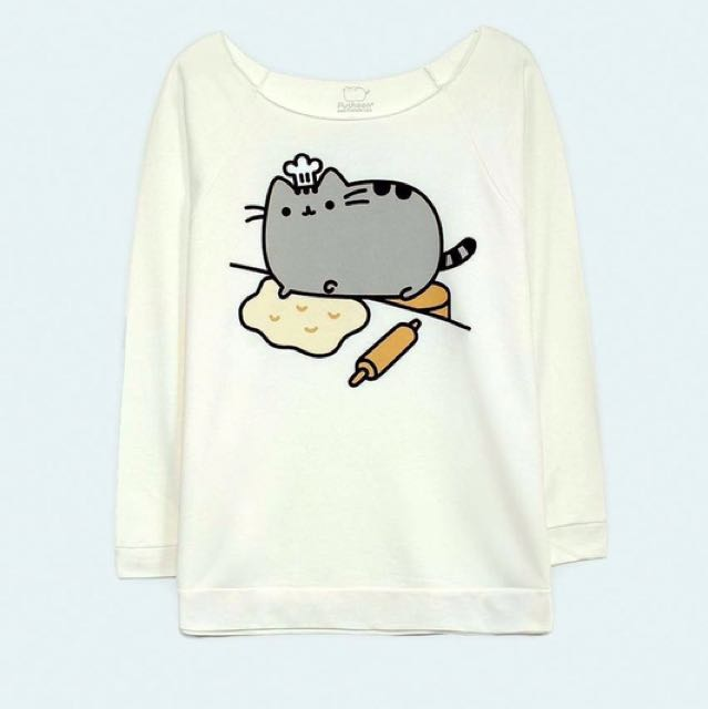 Pusheen 3/4 Sleeve Sweater
