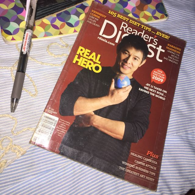 Readers Digest January 2009 Issue