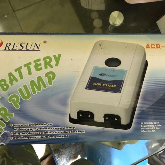 Resun Airpump Ac/dc