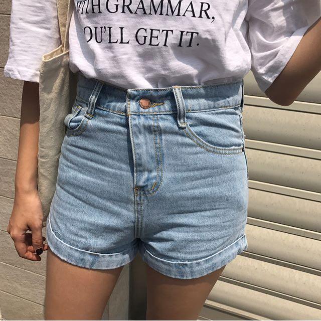 Roomee反折短褲