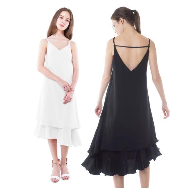 Sally Dress White