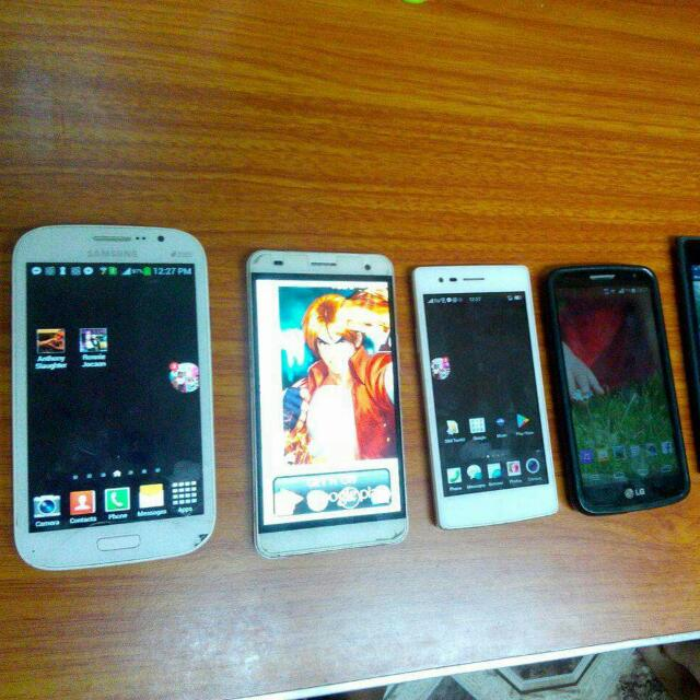 Samsung Grand Neo, Oppo 1201, LG G2 Mini, Cherry Mobile Omega HD 3, Nokia Lumia 730 Dual Sim, Samsung SM-B105E Back up phone