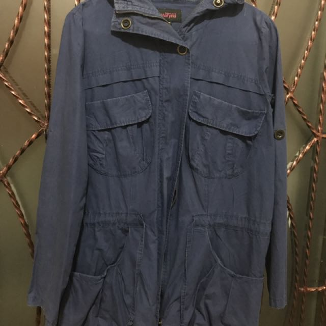 SECOND/PRELOVED/SECOND/SEKEN/BEKAS/BEKAS/PRELOVED PARKA BIRU DONGKER