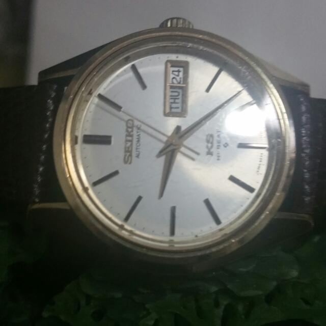 Seiko King Gold Top Very Rare Verg Good Condition