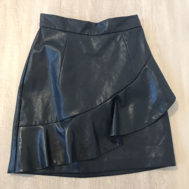 Shieke Navy Blue Skirt