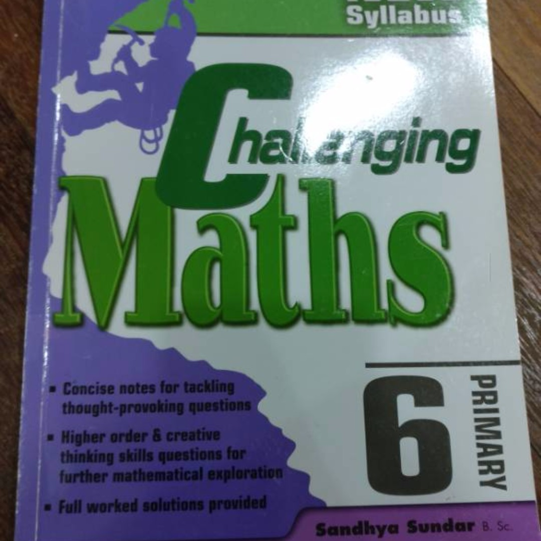 Singapore English and Maths Book (check price in description)