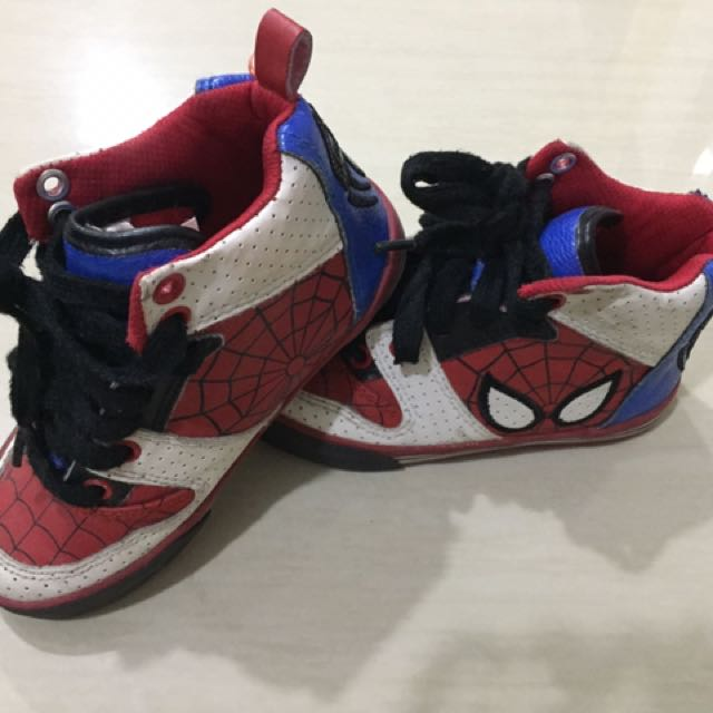 Spiderman Shoes Marvel