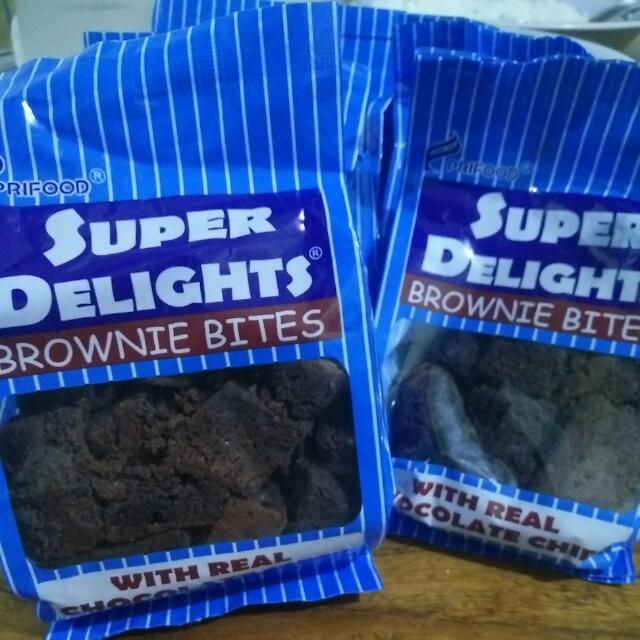 "Super Delights ""Brownie Bites"""