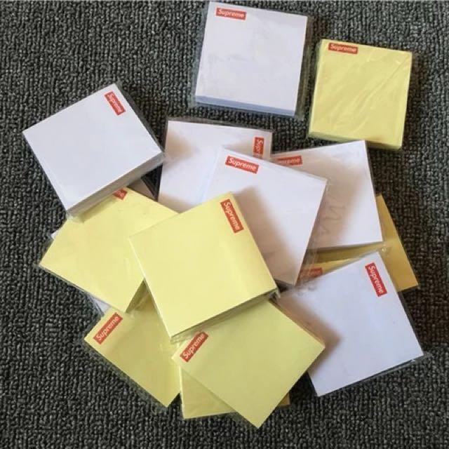 Supreme Sticky Notepads