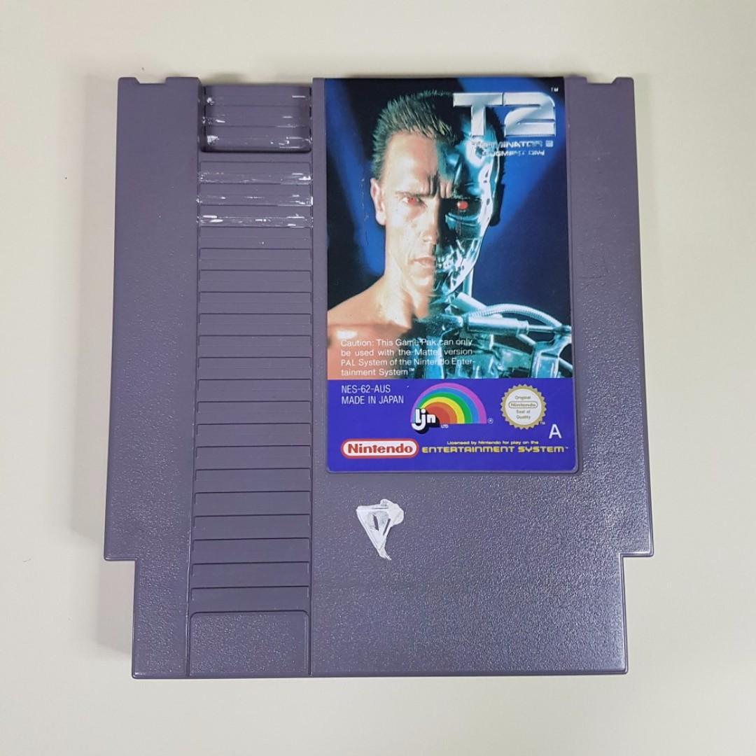 Terminator 2 T2 Judgement Day NES Nintendo PAL A