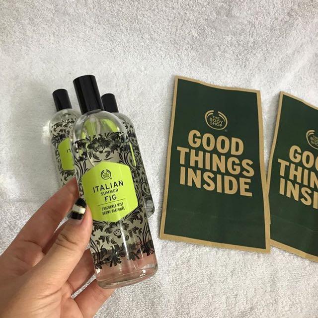 The body Shop Parfume Minyak wangi