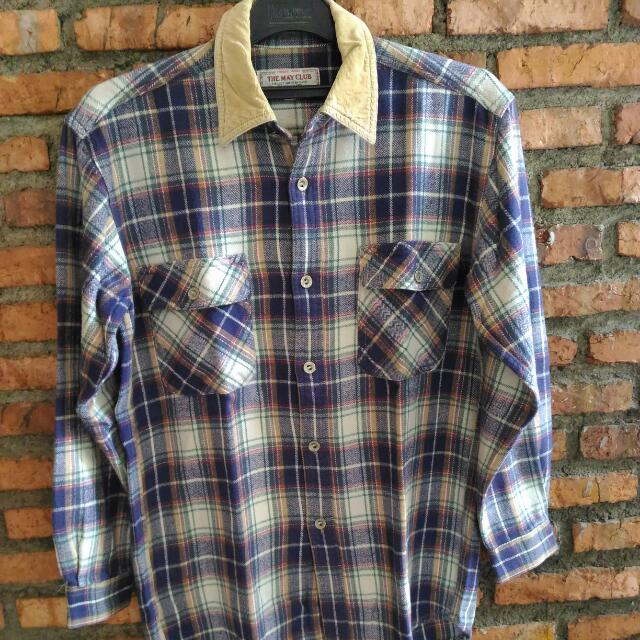 The May Club Flannel (Reprice)