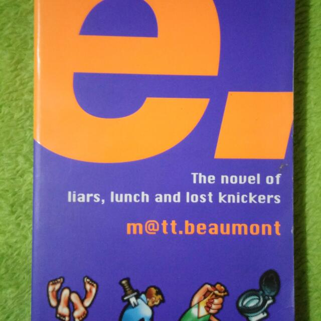 The Novel Of Liars, Lunch And Lost Knickers