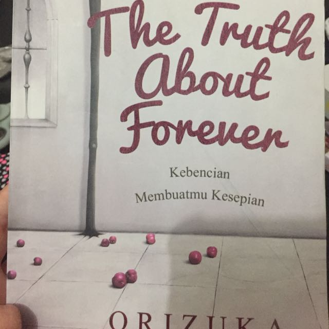 The Truth About Forever novel