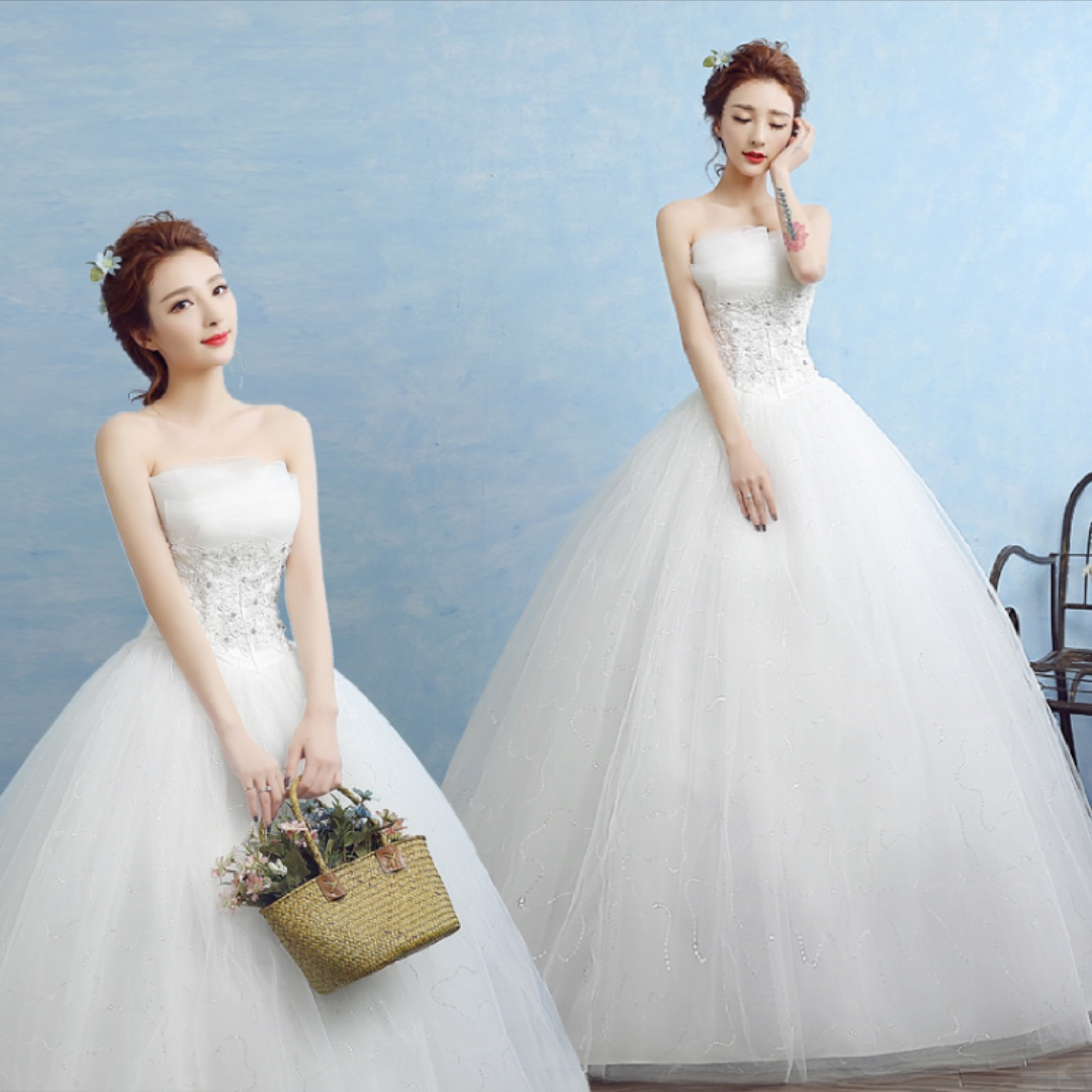 Luxury Tube Top Wedding Dress Pattern - All Wedding Dresses ...
