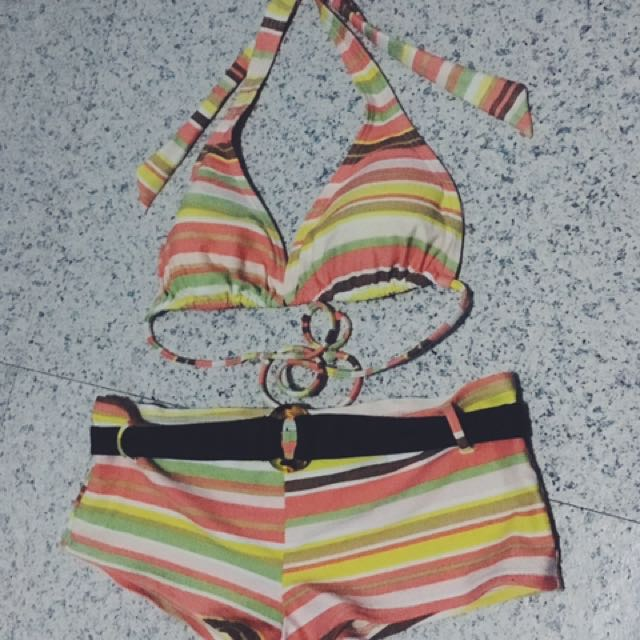 Two Piece On Hand #swimsuit
