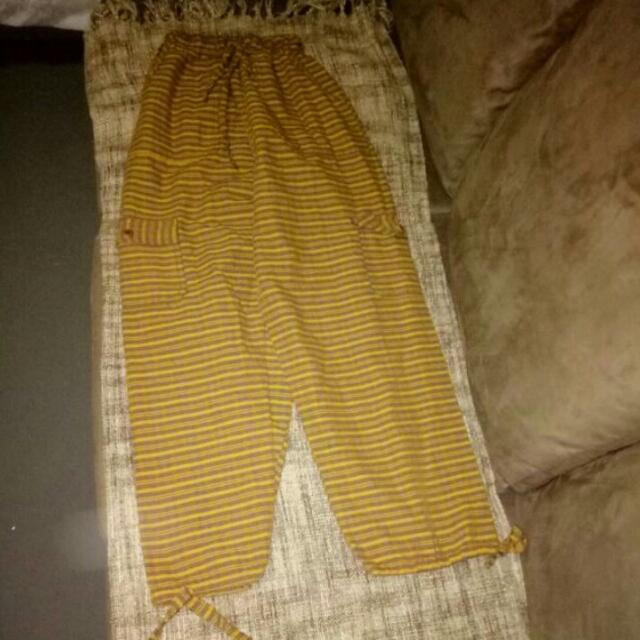 Unisex Hippie Style Pants Authentic From Peru