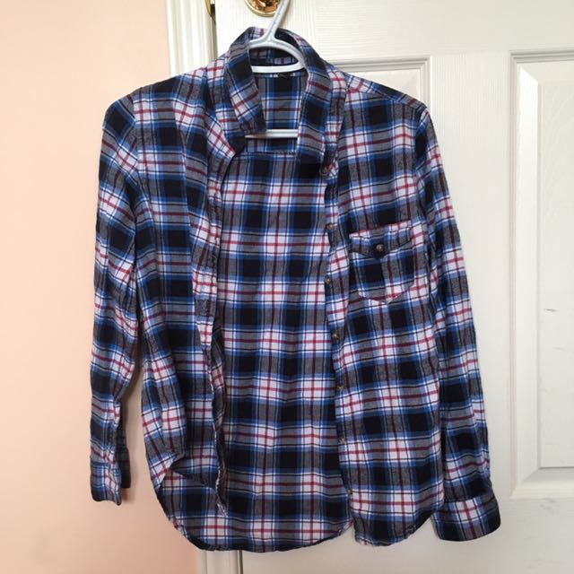 Urban Planet Plaid Flannel