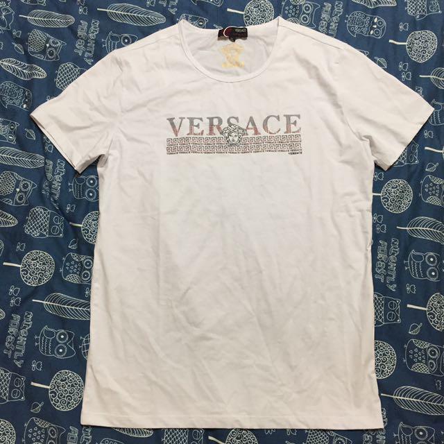 Versace短袖 凡賽斯短袖T恤 女王頭 修身款 高品質現貨
