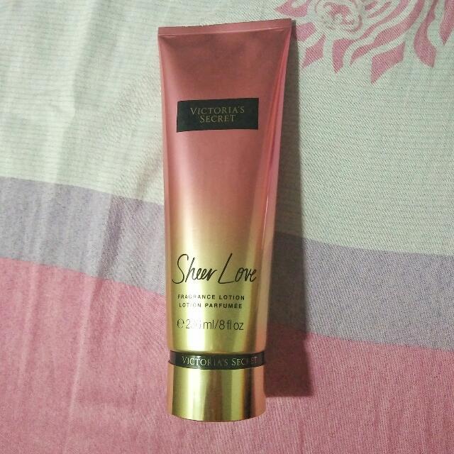 Victoria's Secret Sheer Love Fragrance Lotion