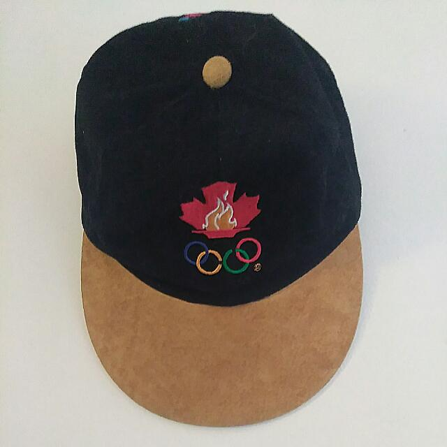 Vintage 1996 Canadian Olympic Hat