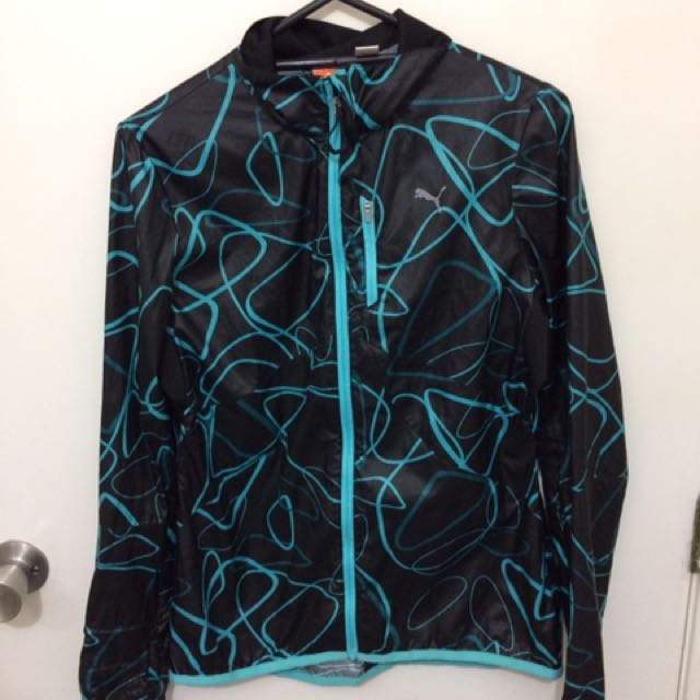 Woman's Puma Windbreaker Jacket