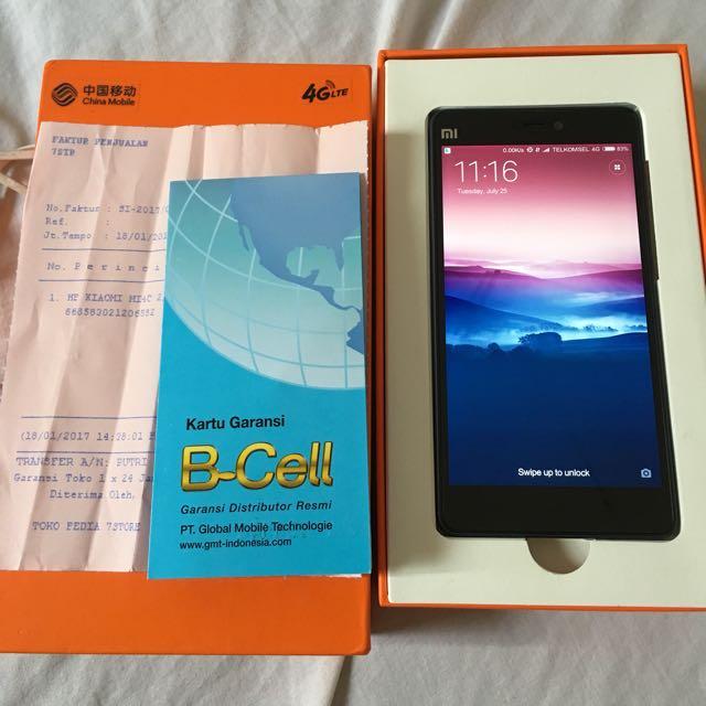 Xiaomi Mi4c Grey 2/16 Mulus