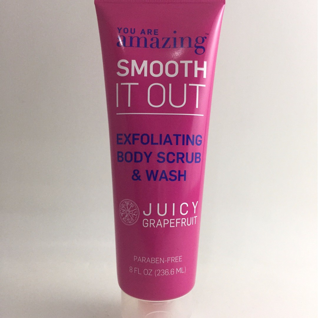 You are Amazing Juicy Grapefruit Exfoliating Body Scrub & Wash