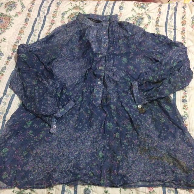 Zara Basic Loose Pattern Shirt