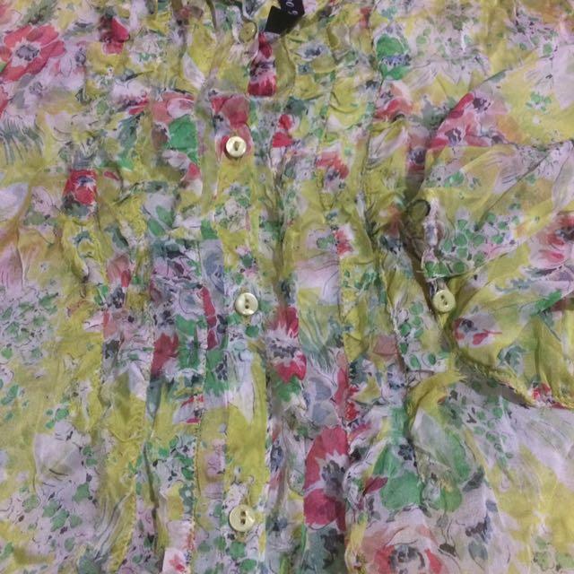 Zara Woman Floral Beach Silk