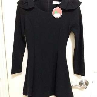 全新Cherrykoko黑色連身裙