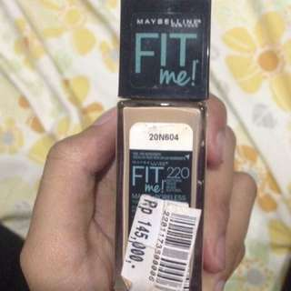 Foundation Maybelline FitMe