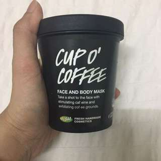 Lush Cup O'Coffee Face & Body Scrub