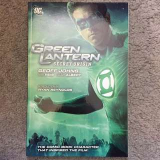 Green Lantern Secret Origin